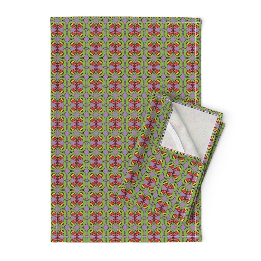 Orpington Tea Towels featuring firebird by ecologies