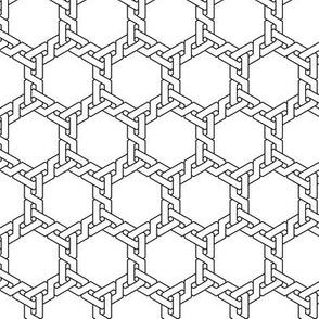 02716013 : hex interlock weave