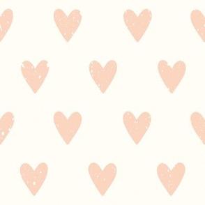 Vintage heart pattern