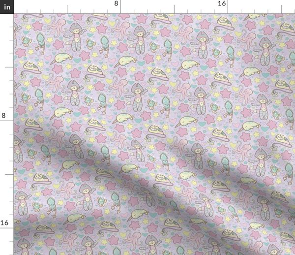 Fabric By The Yard Fairy Kei Land Lavender