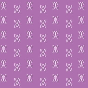 arrowheads in Radiant  Orchid