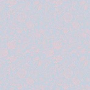 William Morris Ditsy ~ Versailles Fog and Dauphine