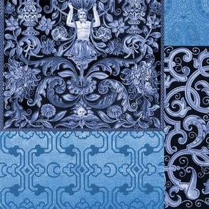 Henry VIII Was A Cheater ... Quilt ~ Anne's Blues