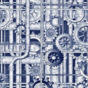 blueprint steampunk