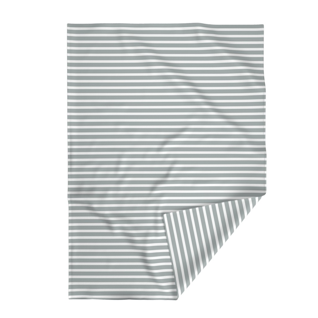 Lakenvelder Throw Blanket featuring Stripes in Paloma Grey by daniellereneefalk