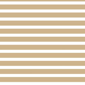 stripes in Sand Brown