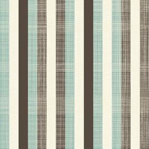 Stripes (dusty blues)