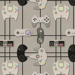 Video Game Geek - (Medium Print)