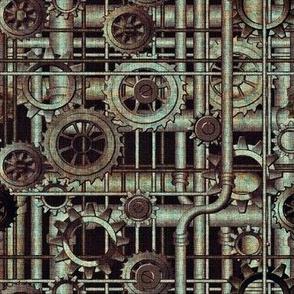 grunge steampunk