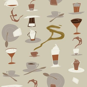 Il Gusto del caffè - Macchiato caldo al vetro - 01