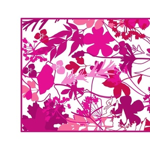 Pink Shades  Tea Towel