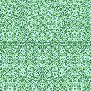 serene mandala, synergy0004 colorway