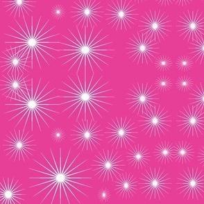 Starburst in Magenta Pink