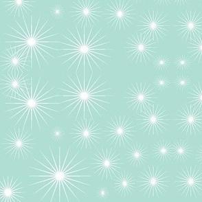 Starburst in Cool Mint