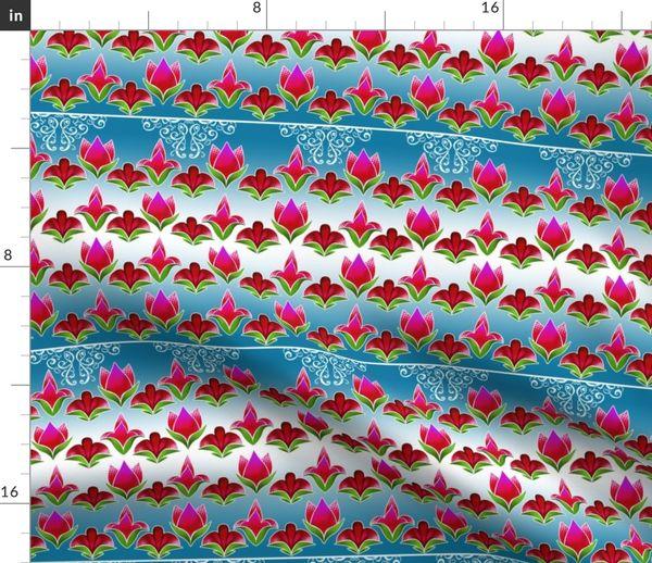 flowers2 spoonflower spoonflower