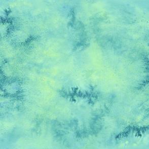 WATERCOLOR Ripple Blue Green