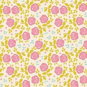 Shabby Chic Roses Ditsy