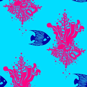 Fuschia Reef