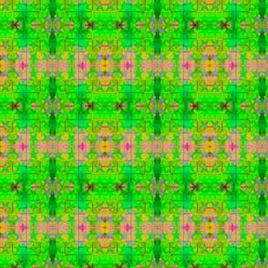 Garden Green rad plaid