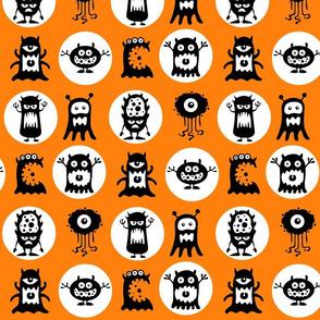 Orange Monsters