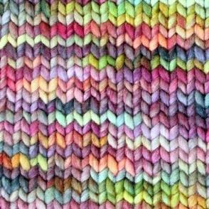 Chicken Boots Knit Fabric-Regular size