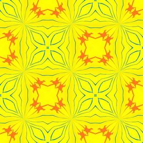 Yellow There Kaleidescope 4