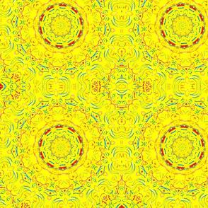 Yellow There Kaleidescope