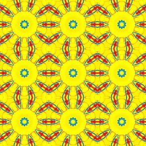 Yellow There Kaleidescope 3