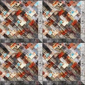 Urban Fragments Handwoven #3 - ver 1