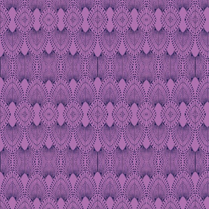 deco feathers navy on orchid