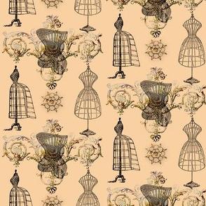 vintage_dress_gold