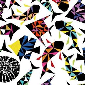 kaleidoscopic depth