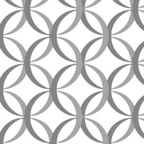 Interlocking Grey Circles