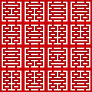 02770307 : i-ching trigram squares