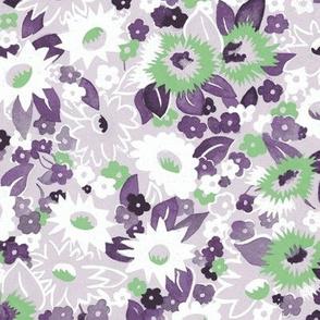 Daisies purple