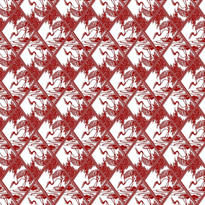 Chinese paper stork