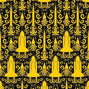 Rocket Science Damsak (Black and Yellow)