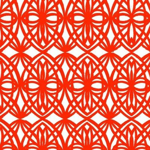 Middle Eastern Chinese Paper-Cut Ellipses