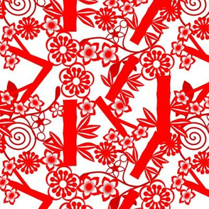chinese_floral_paper cutting