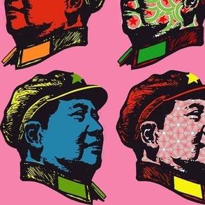 Pop Mao on pink#2