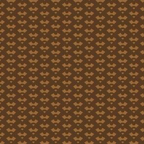 Quarter Gear Arrows - Brown