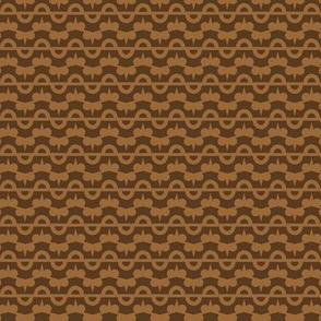 Gear Stripes - Brown