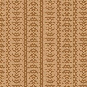 Arrow Stripes - Brown
