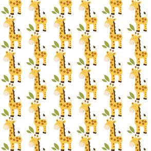 Yellow and Brown Giraffe