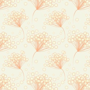 Orange Lace Flower 2