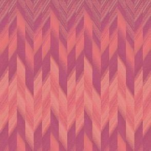 broken chevron pink