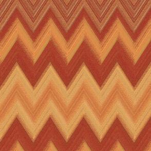 chalk chevron copper