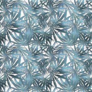 420 Brushed Metal Turquoise Blue