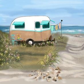 Smaller Camping at the Shore #1