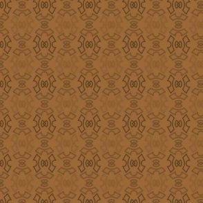 Quarter Gear Tiles - Brown